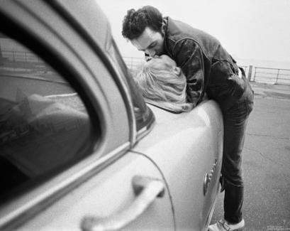 Joe Strummer and Gaby, NYC - 1981