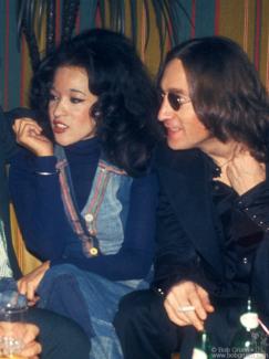 John Lennon and Ronnie Spector, NYC - 1974