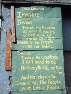 Imagine Graffiti, NYC - 1981