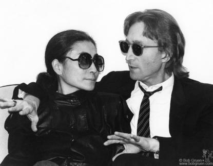 John Lennon and Yoko Ono, NYC - 1980