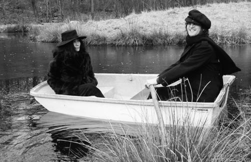 John Lennon and Yoko Ono, CT - 1973