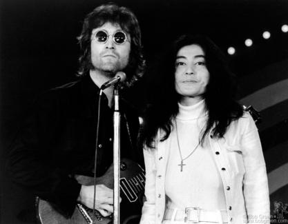 John Lennon and Yoko Ono, NYC - 1972