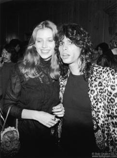 Steven Tyler and Bebe Buell, London - 1976