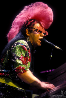 Elton John, NYC - 1986