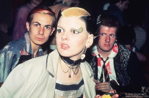 Simon, Soo Catwoman and Marco Pirroni, London - 1976
