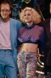 Keith Haring and Madonna, NY - 1989