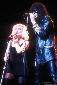 Debbie Harry and Joey Ramone, NYC - 1987