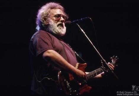 Jerry Garcia, NY - 1992