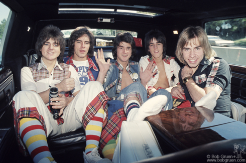 Bay City Rollers, NYC - 1975