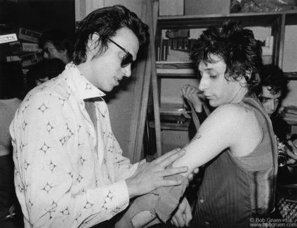 Richard Hell and Johnny Thunders, NYC - 1978