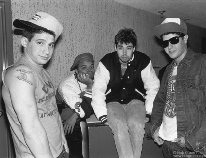 Beastie Boys and DJ Hurricane, NJ - 1987