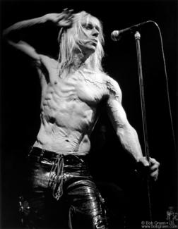 Iggy Pop, NYC - 1996