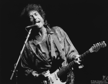 Bob Dylan, NYC - 1986