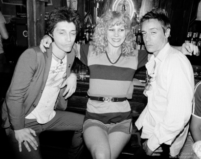 Johnny Thunders, Sable Starr and Iggy Pop, NYC - 1977