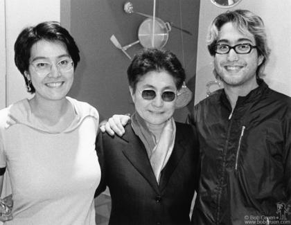 Kyoko Cox, Yoko Ono and Sean Lennon, NYC - 1998