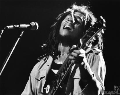 Bob Marley, NYC - 1976
