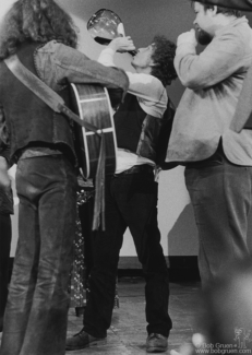 Arlo Guthrie, Bob Dylan and Dave Van Ronk, NYC - 1974
