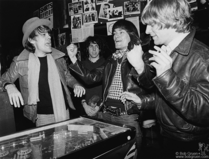 David Johansen, Jon Tiven, Dee Dee Ramone and Andy Paley, NYC - 1977