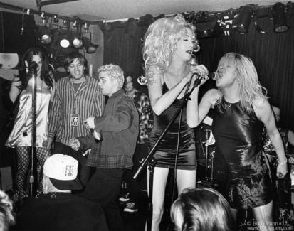 Evan Dando, Billie Joe Armstrong, Mistress Formika and Courtney Love, NYC - 1994