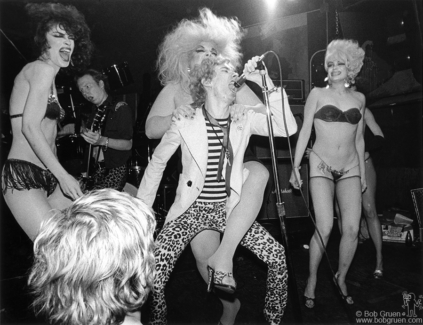 Dead Boys and Divine, NYC - 1978
