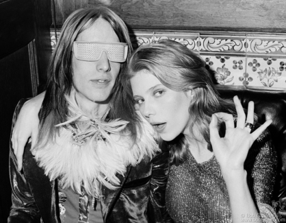 Todd Rundgren and Bebe Buell, NYC - 1973