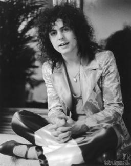 Marc Bolan, NYC - 1971