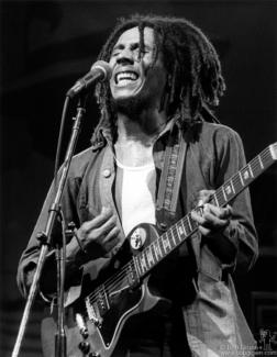 Bob Marley, NYC - 1975