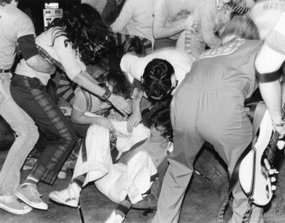 Les McKeown, NYC - 1977