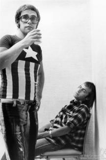 Elton John and Bernie Taupin, NYC - 1971