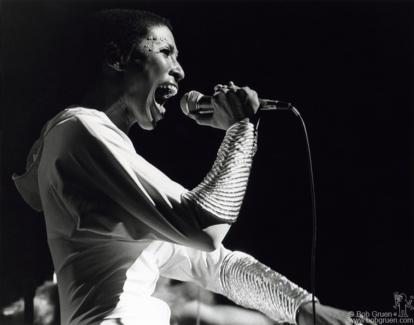 Nona Hendryx, NYC - 1974