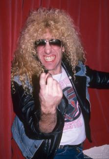 Dee Snider, NYC - 1985