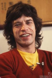 Mick Jagger, NYC - 1981