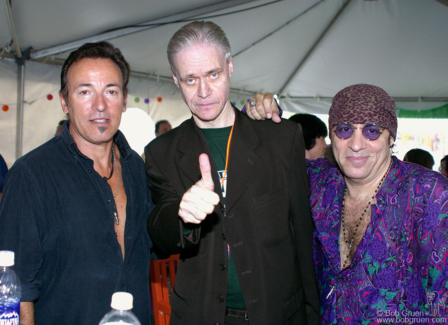 Bruce Springsteen, Kim Fowley and Little Steven Van Zandt, NY - 2004