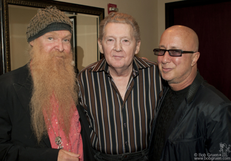 Billy Gibbons, Jerry Lee Lewis and Paul Shaffer, NYC - 2006
