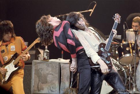 Rolling Stones, NYC - 1975