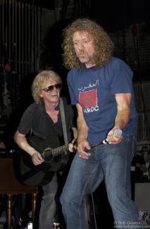 Ian Hunter & Robert Plant, NYC - 2006