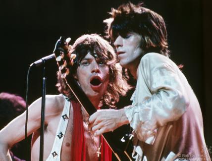 Mick Jagger and Keith Richards, NYC - 1972