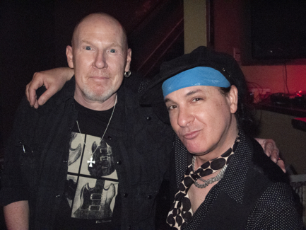 Cheetah Chrome and Syl Sylvain, TX - 2010