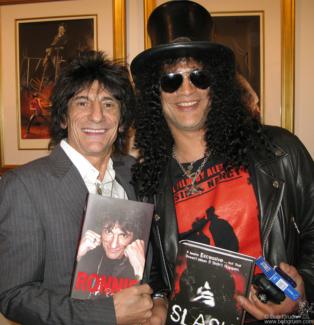 Ronnie Wood and Slash, NYC - 2007
