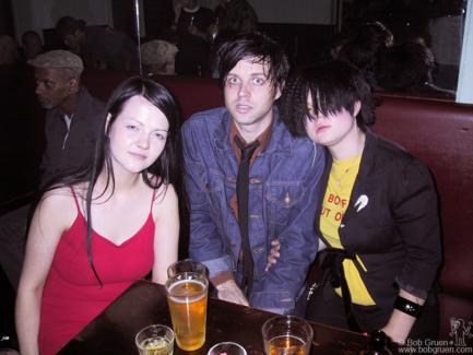 Meg White, Ryan Adams and Kelly Osbourne, NYC - 2002