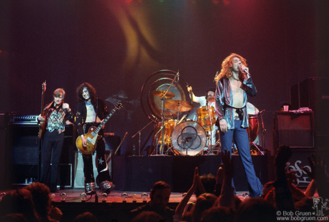 Led Zeppelin, NYC - 1975