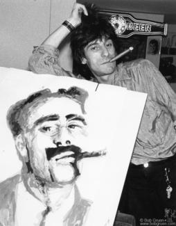 Ron Wood, NYC - 1986