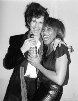 Keith Richards and Tina Turner, NYC - 1983