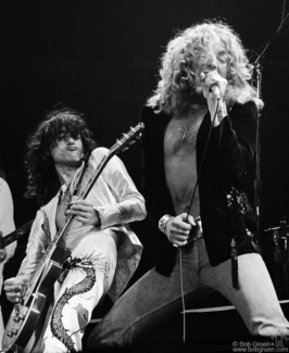 Jimmy Page and Robert Plant, NYC - 1977