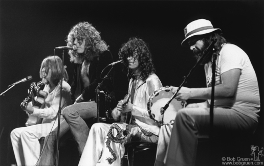Led Zeppelin, NYC - 1977