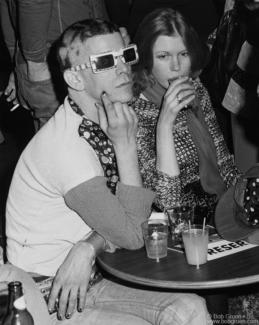 Lou Reed and Barbara Hodes, NYC - 1974