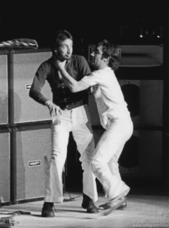 Pete Townshend and Keith Moon, NYC - 1974