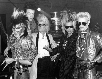 Sigue Sigue Sputnik, NYC - 1986