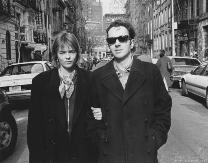 Joe and Lucinda Strummer, NYC - 1994