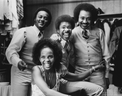 Gladys Knight and The Pips, NYC - 1973